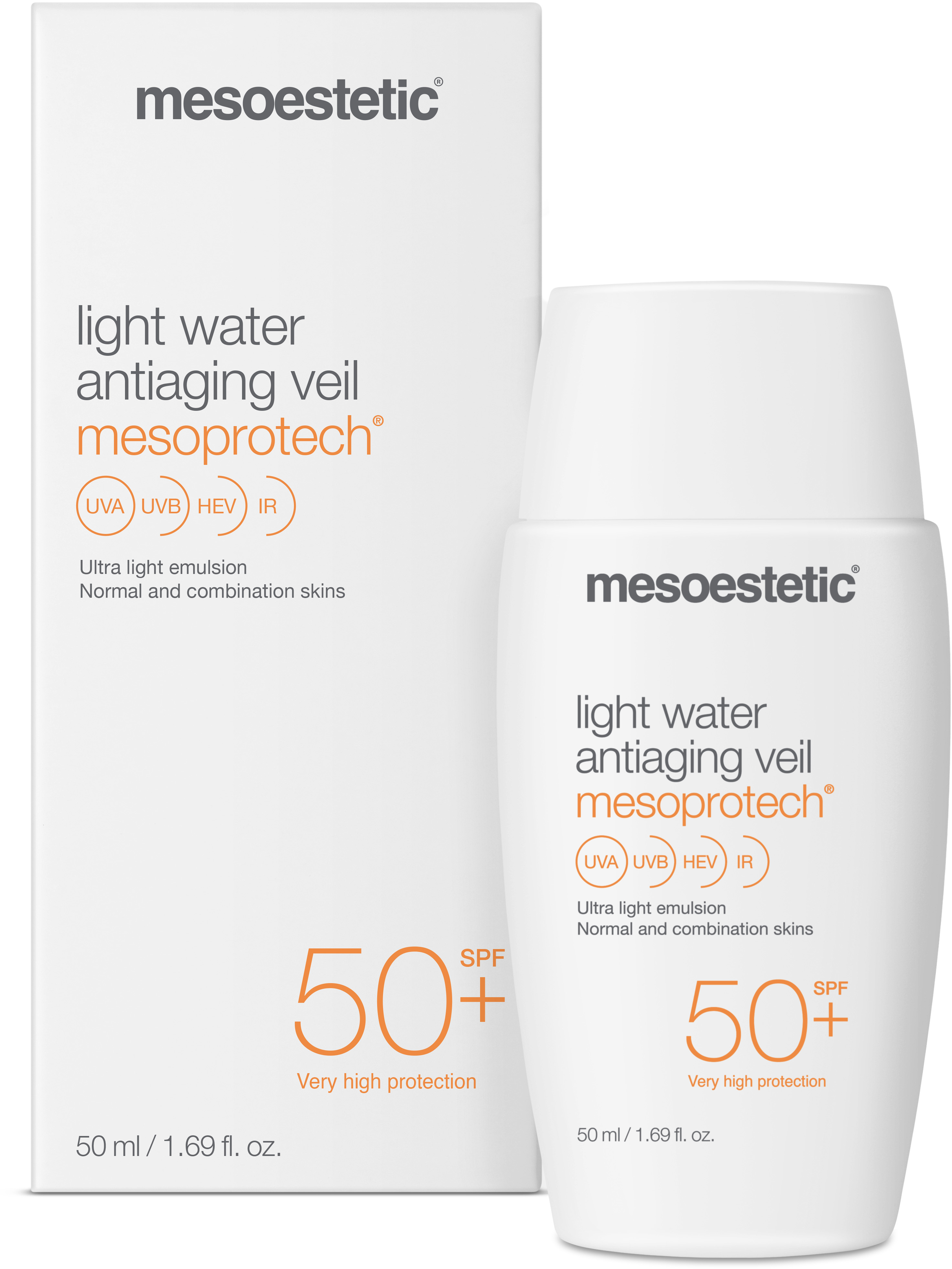 Mesoestetic Light Water Antiaging Veil SPF50+