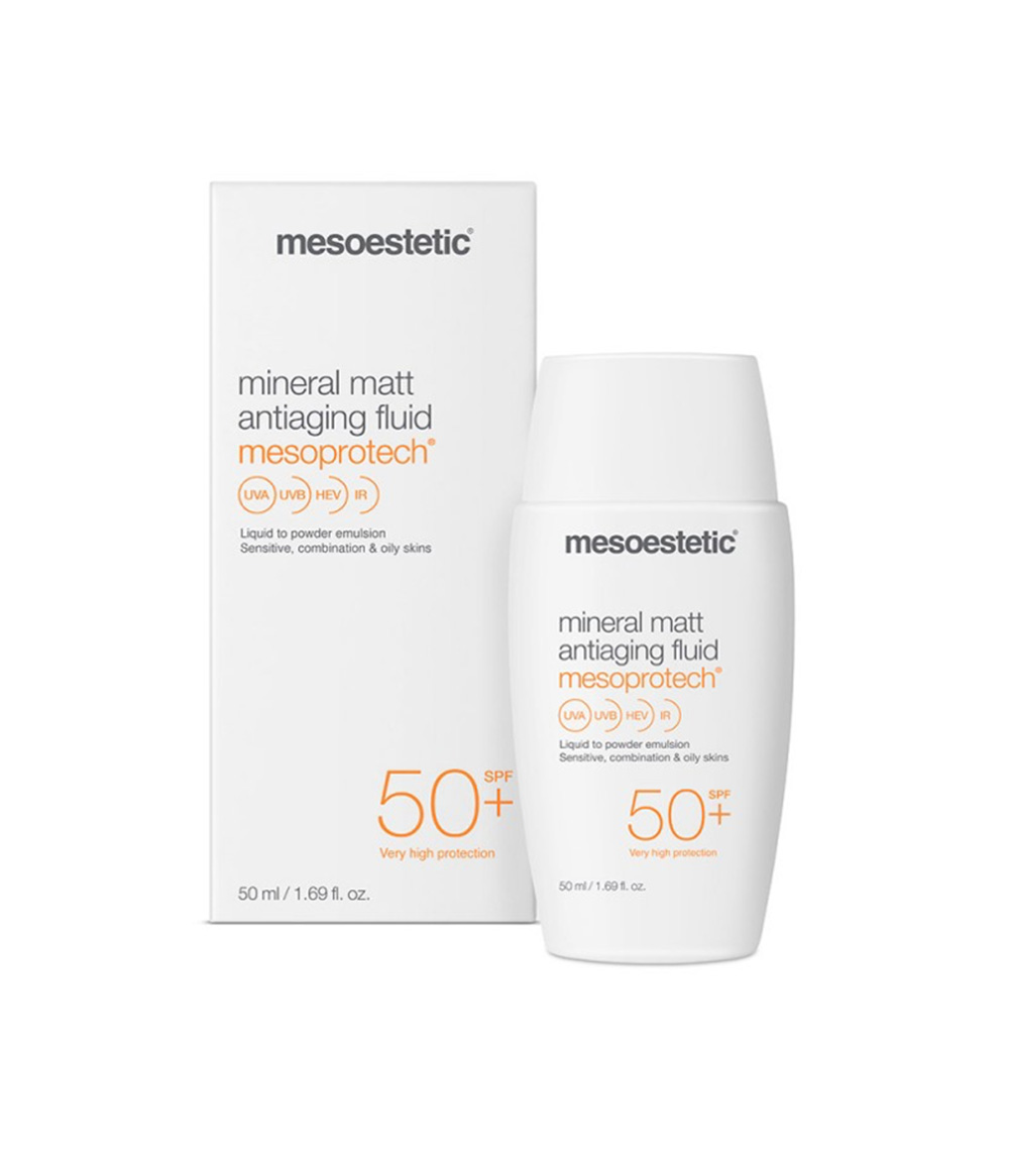 Mesoestetic Mineral Matt Antiaging Fluid SPF50+